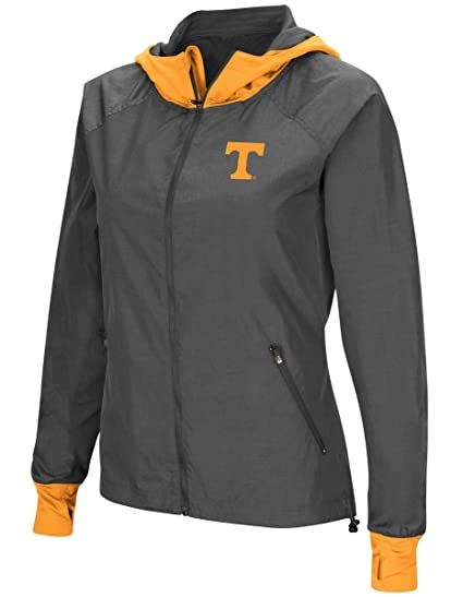 e3701d6a2e0 Image Unavailable. Image not available for. Color  Tennessee Volunteers  NCAA Women s  quot Backside quot  Full Zip Hooded Charcoal Jacket
