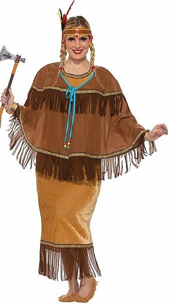 Amazon Com Forum Novelties Women S Native American Costume Multi