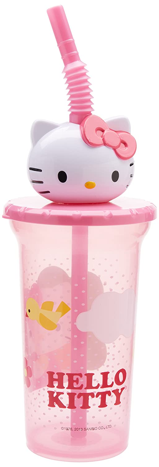 新入荷 Zak -! Designs Buddy Sip Cup - Hello Zak Kitty Cup - 15 oz by Zak Designs B0067SYETW, Day Tripper:94480676 --- a0267596.xsph.ru