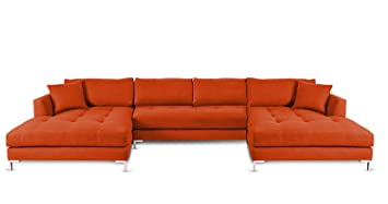 decenni divina ll modern double chaise ushaped sectional hacienda