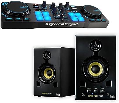 DJ Kit XPS 1,0 Pack - Kit DJ Compuesto de Controlador + Difusores ...