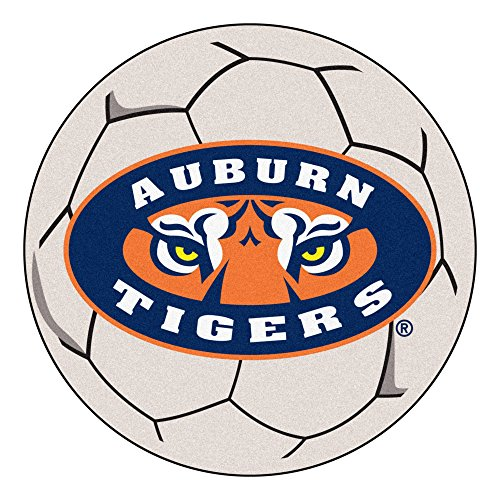 - Fan Mats Auburn University Tigers Soccer Ball Rug