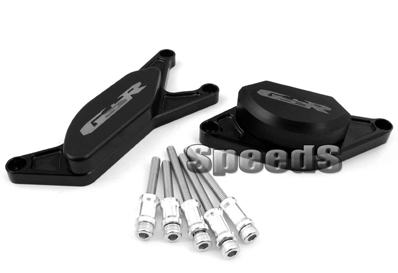 SPEEDS Engine Stator Case Cover Protector Slider For Suzuki GSR 400 600 2006-2012 GSR750 2012-2014