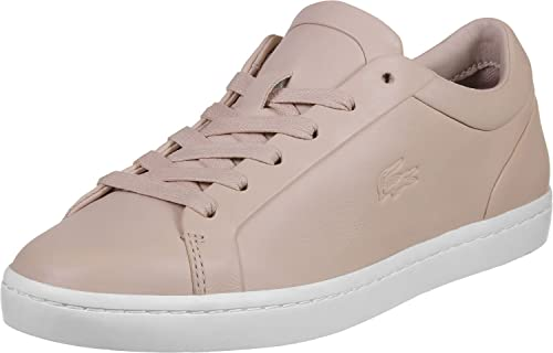 01f0db25c Lacoste Woman Sneaker Straightset Pink  Amazon.co.uk  Shoes   Bags