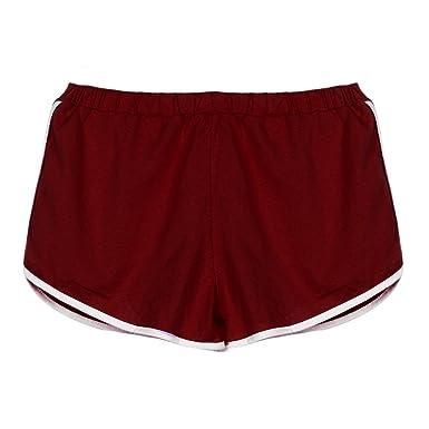 Mujer Pantalones Cortos Verano Mallas Pantalones Patchwork Moda ...