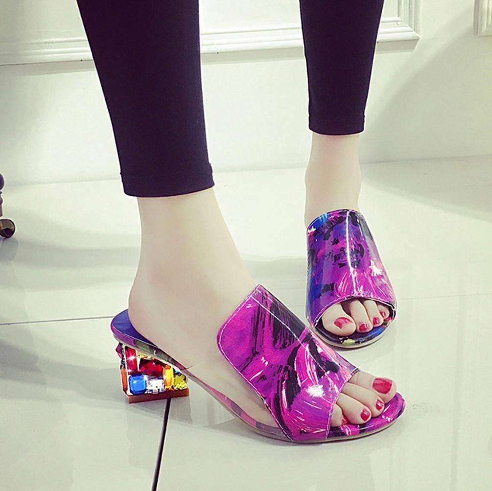 DM&Y 2017 greggio europeo e americano con un set di font sandali piede  diamante signora pantofole. sandali e ciabatte con la testa di pesce . suit  .