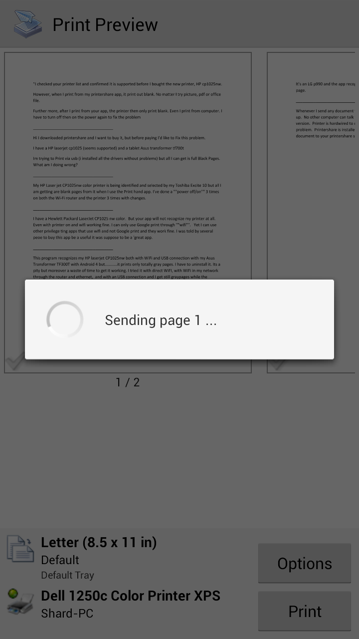 amazon com printershare mobile print appstore for android