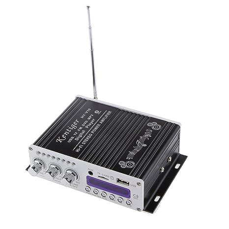 2 Canales Alta Fidelidad Bluetooth HiFi Estéreo AMP ...