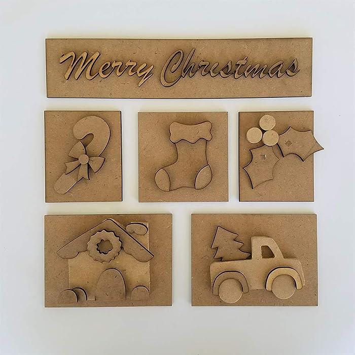 Foundations Décor, Shadow Box Kit - Christmas