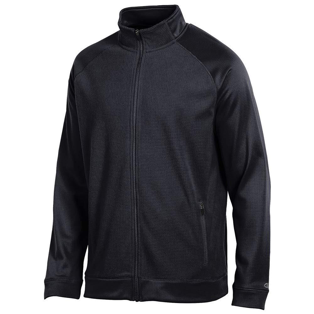 Champion Mens (Black) Achievement Performance Full Zip Jacket