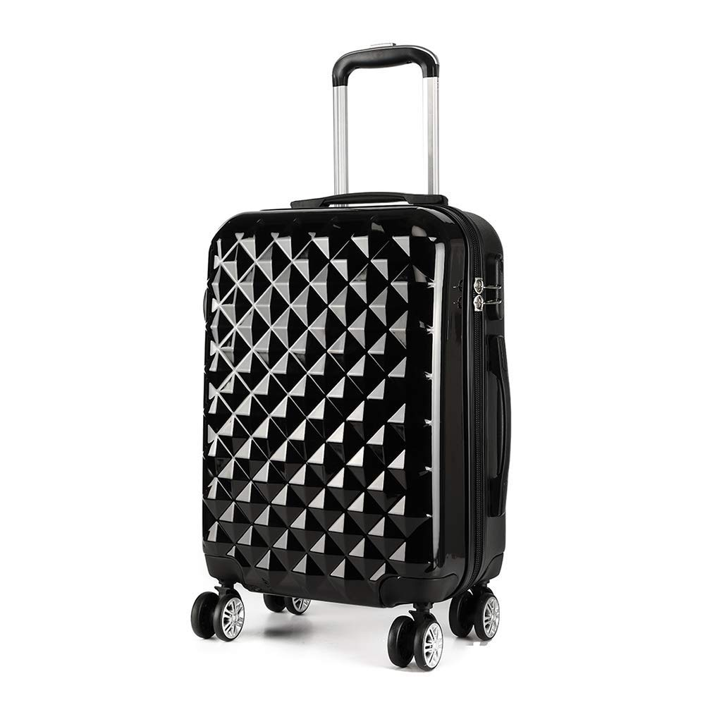 HEMFV ファッショントレンドビジネストラベルスーツケース、レジャー大容量トロリー荷物ABS耐久性のあるトロリーケース B07R5J8M9M
