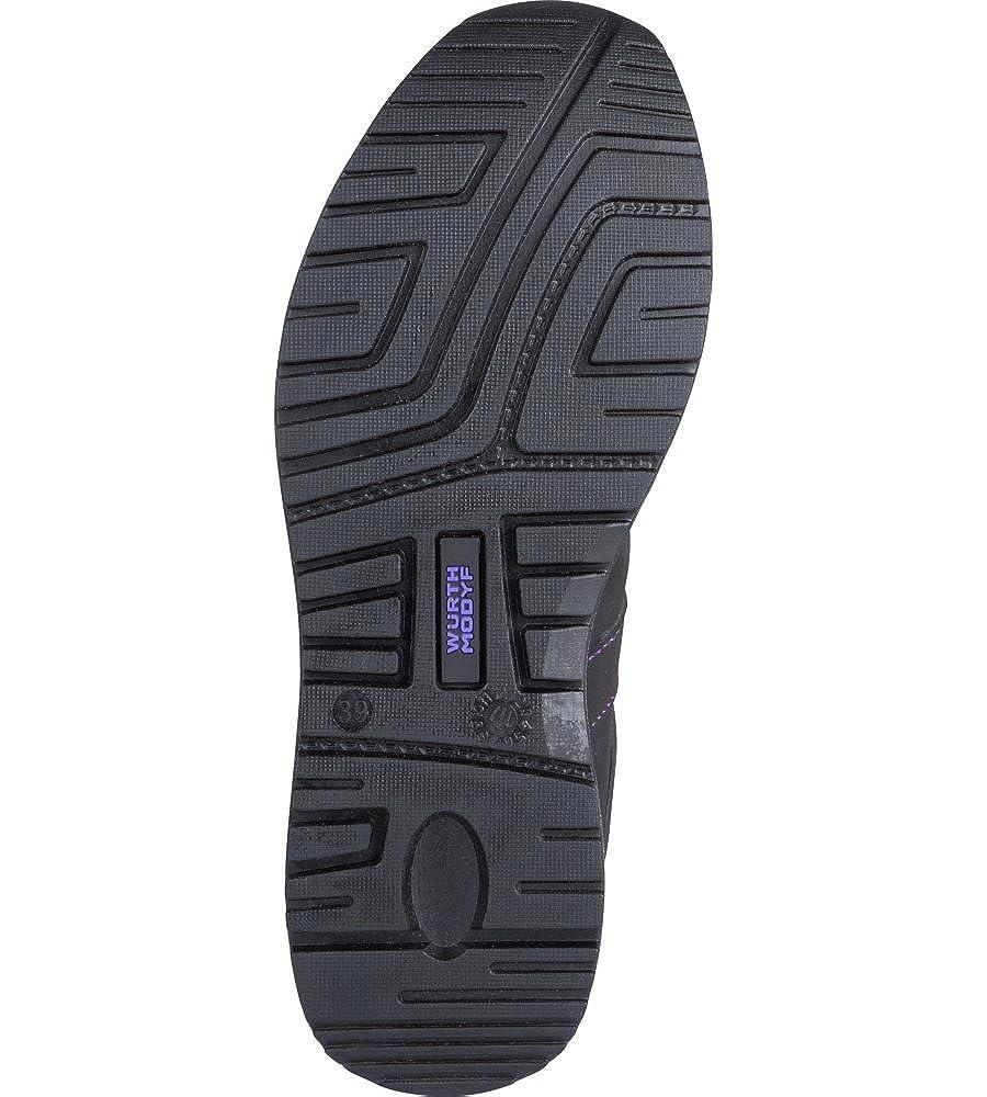 W/ÜRTH MODYF Chaussures de s/écurit/é Femmes Carina S3 Noires//Violettes