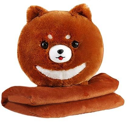 Amazoncom Corgi Pomeranian Dog Soft Warm Fuzzy Plush Throw