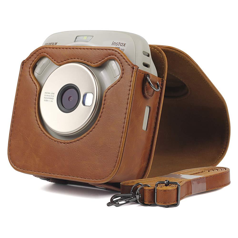 Sacoche de Protection en Cuir PU pour Fujifilm Instax Square SQ20
