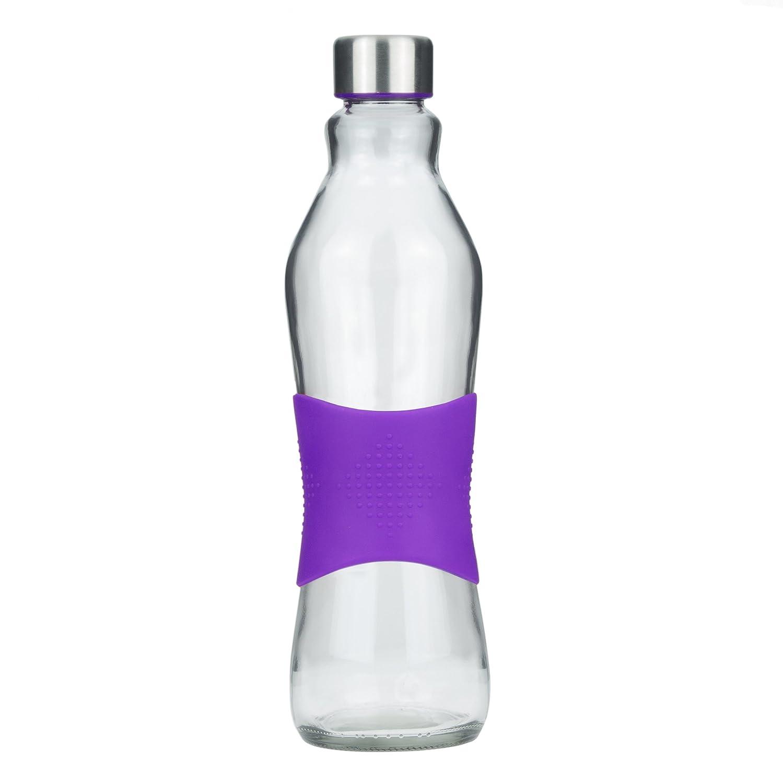 Botella de vidrio para beber/ para nevera sin BPA de 1.0L con ...