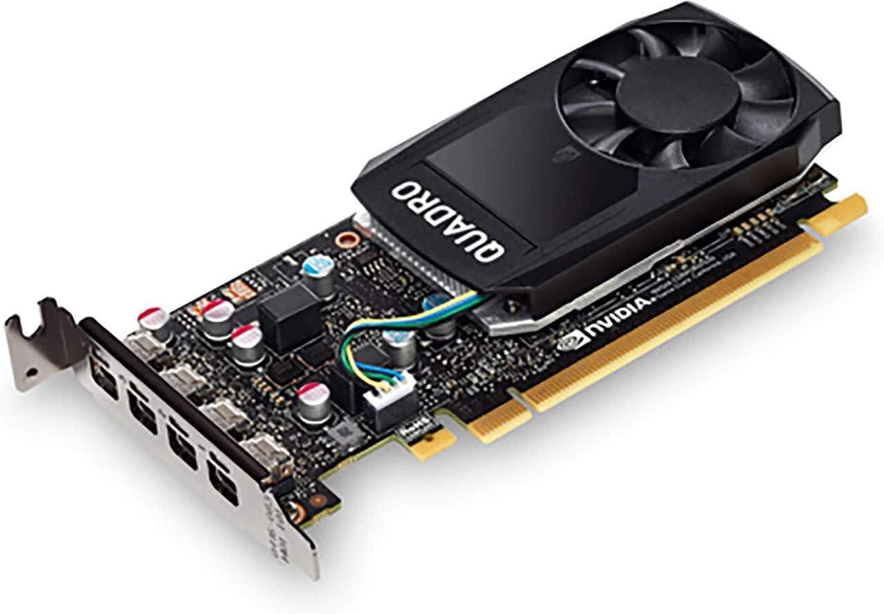 HP 3ME25AA NVIDIA Quadro P620 - Graphics Card - Quadro P620-2 GB GDDR5 - PCIe 3.0 X16-4 X Mini DisplayPort - for Workstation Z4 G4, Z6 G4, Z8 G4