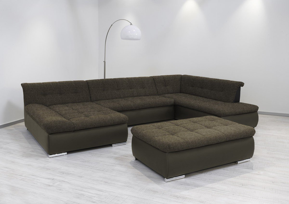 Dreams4home Polsterecke Aulis Sofa Wohnlandschaft Ecksofa Xxl Couch