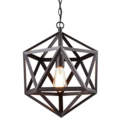 CLAXY Ecopower Industrial Edison Hanging Pendant 1 Light Large Size ...