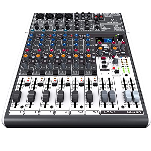 front facing behringer xenyx 1204usb premium