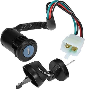 Amazon.com: Key Ignition Switch For E-ton ATV All 2 & 4 stroke 40 50 70 90  cc Eton 650720: AutomotiveAmazon.com