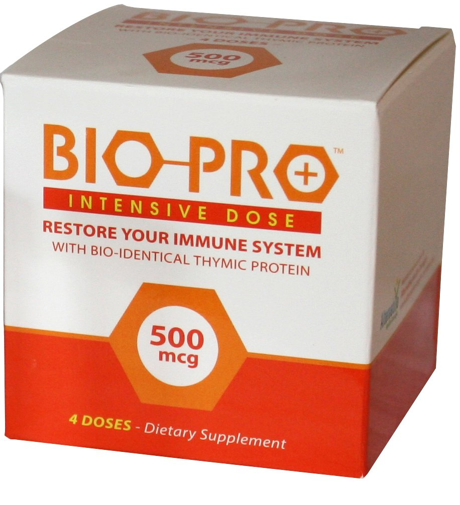 BioPro-Plus Immune Support Supplement with Zinc, Thymic Proteins (Maximum Strength) Bioidentical Immune System Booster, All Natural Ingredients