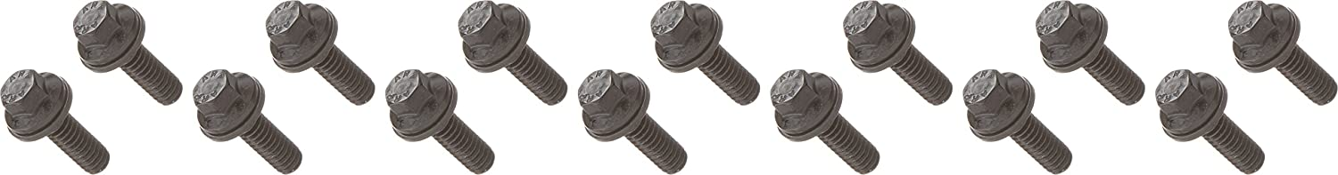 ARP 1007504 Hex Style Valve Cover Bolts, Chrome Moly Steel With Black Oxide Finish, Package Of 14, For Select Cast Aluminum Covers 100-7504