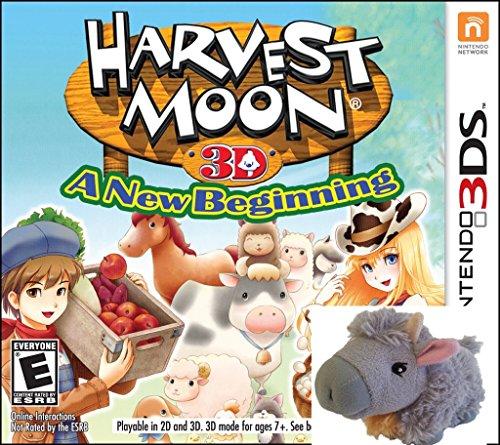 Harvest Moon a New Beginning BONUS Plush (New Beginnings Plush)