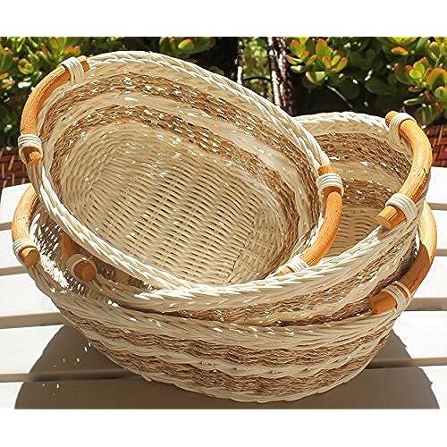 large wicker baskets with handles. Black Bedroom Furniture Sets. Home Design Ideas