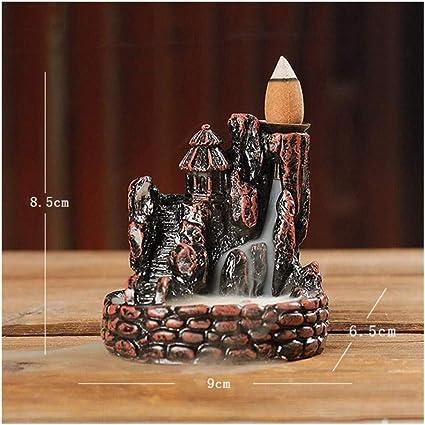 家庭用アロマディフューザー 滝帰っ香香炉香炉ギフト還流山の川を逆転