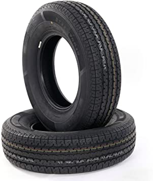 TRIBLE SIX 4 Radial Trailer Tires ST225-75R-15 8ply Speed Rating L 225//75r15 WR078 Camper Trailer Tires TL Load Rangd D
