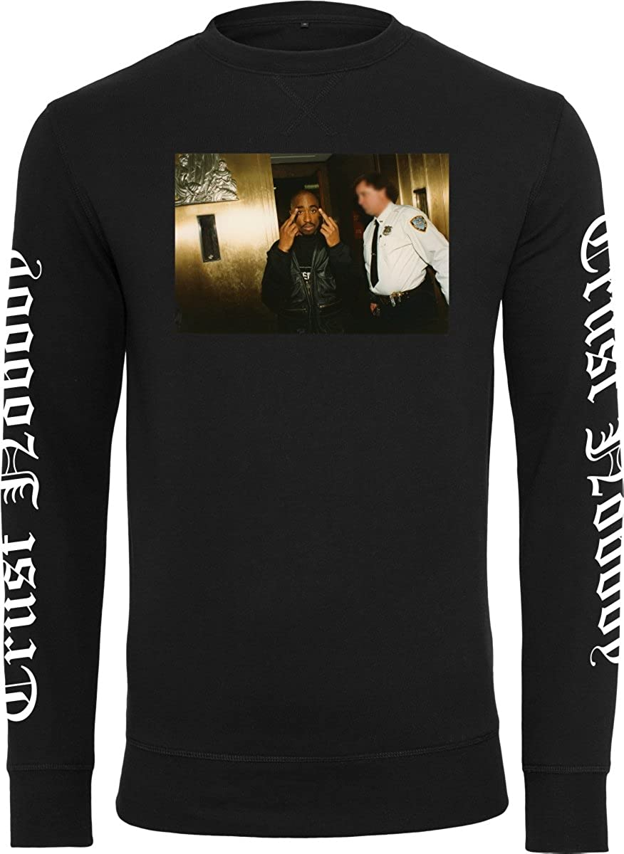 Ordina Mister Tee Tupac Trust Nobody Crewneck black Felpe