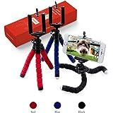 Flexpod Selfie Stick Monopod, Tripod Stand for iPhone X 8/8 Plus/iPhone 7/iPhone 7 Plus/Galaxy S9/S9 Plus/Note 8/S8/S8 Plus/Lightweight Camera GoPro (Black)