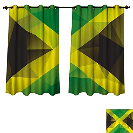 Amazon Com Rupperttextile Jamaican Blackout Thermal Curtain Panel