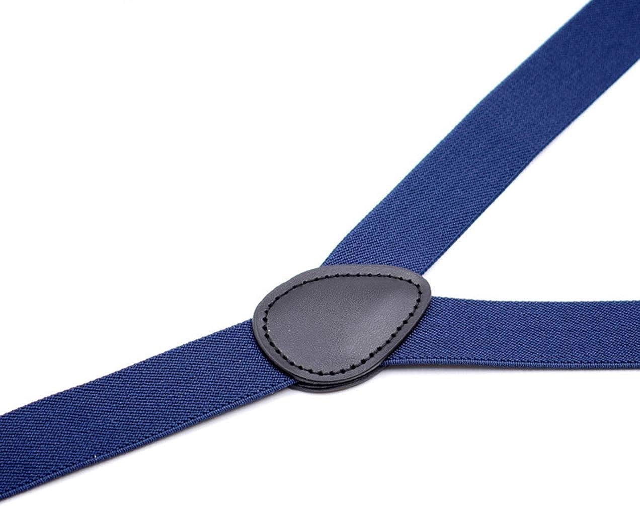 MENDENG Adjustable Suspender Set for Boys Girls Child Kids Suspenders Bowtie Set