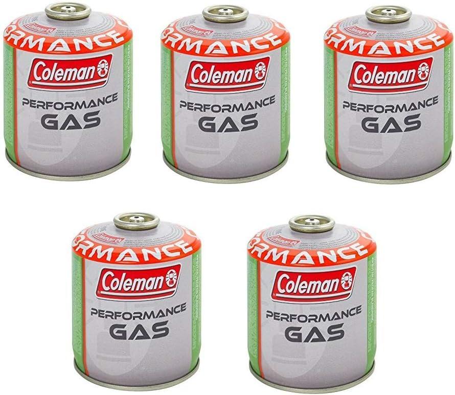 Coleman C500 - Bombona de gas con 440 g de gas (5 unidades ...