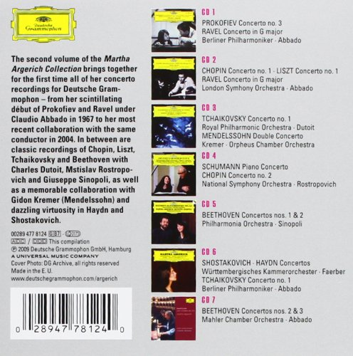 Martha Argerich: The Collection 2 - The Concerto Recordings by Deutsche Grammophon