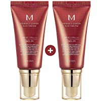 Missha M Perfect Cover Bb Cream SPF 42 Pa Plus # 21, facial make up, brightening, UV protection, K-beauty TWO BOEXES