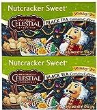 Celestial Seasonings Nutcracker Sweet Black Holiday Tea Bags, 20 ct, 2 pk