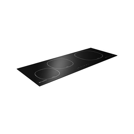 Faber - hobs ad inducción fch93 acabado cristal negro de 90 ...