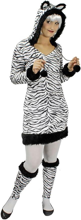 Disfraz de cebra para mujer – Disfraz de calidad para mujer para ...