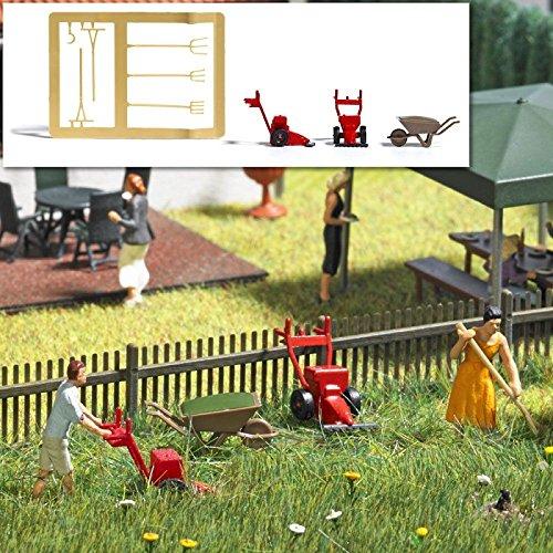 (Busch 1191 Sickle Bar Mower Set HO Scenery Scale Model Scenery)