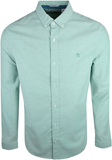 Original Penguin - Camisa casual - para hombre azul Bright ...