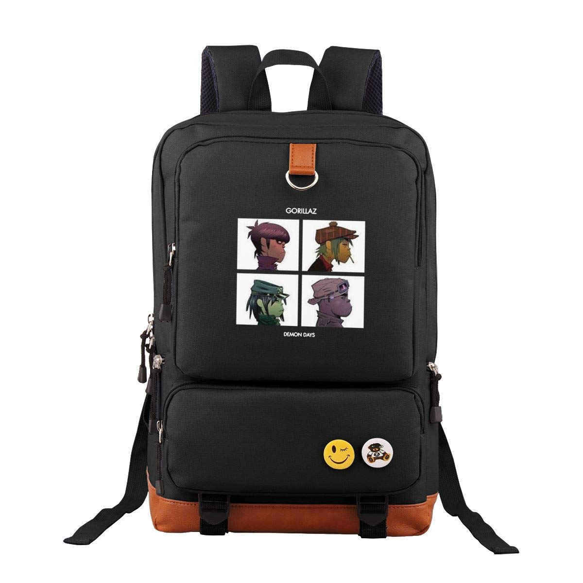 c24f7c56a804 Amazon.com | GORILLAZ DEMON DAYS Classic School Student Backpack ...