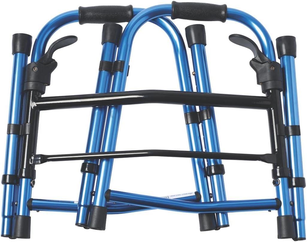 Amazon.com: Medline Compact andador de paddle plegable con ...