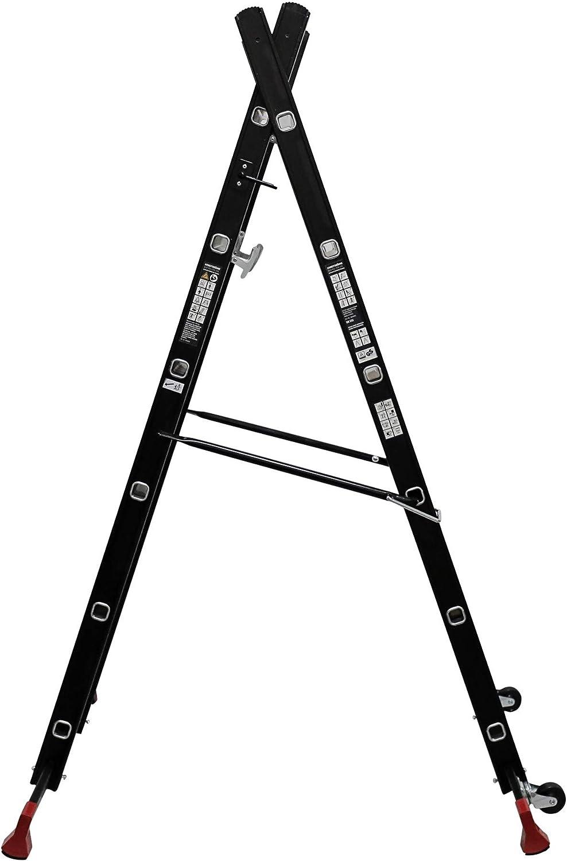 Arbeitsb/ühne Arbeitsger/üst STIER Ger/üst-Arbeitsb/ühne 150 kg DIN EN 131 Mehrzweckleiter