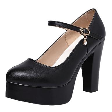 Offiziell Damen Schuhe Pumps Gr 40 Frauen High Heels mit 10