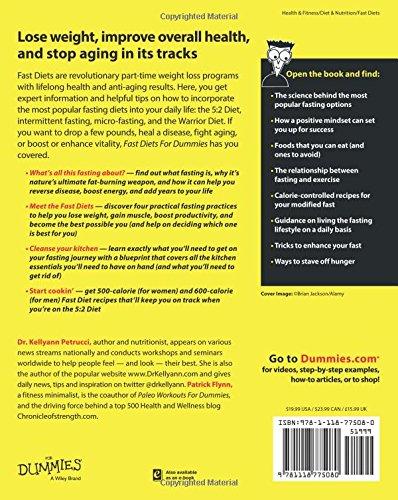 Fast diets for dummies kellyann petrucci patrick flynn fast diets for dummies kellyann petrucci patrick flynn 9781118775080 amazon books malvernweather Gallery