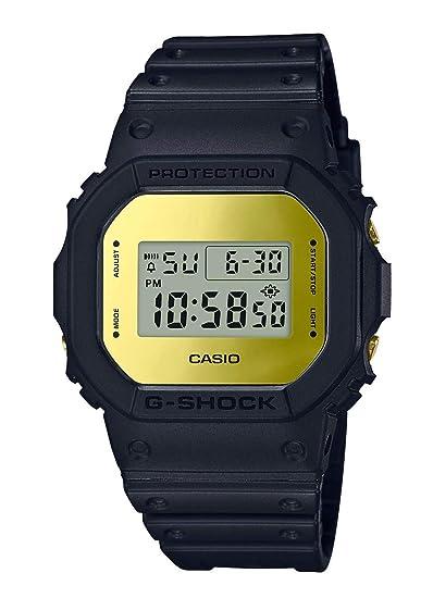 CASIO Reloj Digital para Hombre de Cuarzo con Correa en Resina DW-5600BBMB-1ER: Amazon.es: Relojes