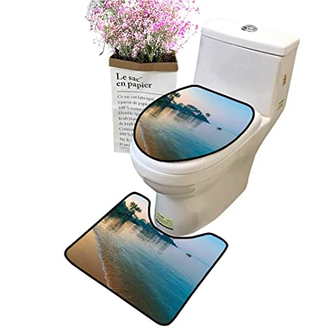 Cool Amazon Com Bathroom Rug Toilet Sets Morning Sun Rays And Inzonedesignstudio Interior Chair Design Inzonedesignstudiocom