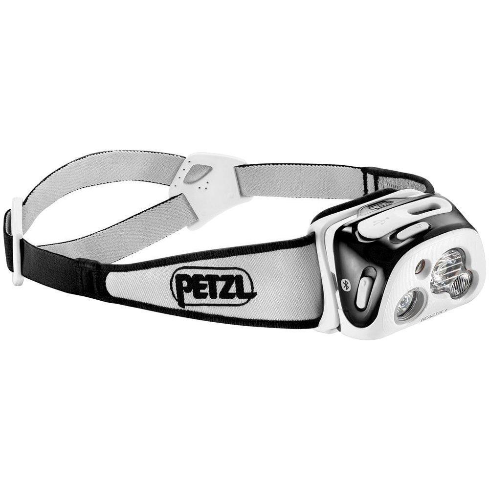 PETZL - REACTIK+ Headlamp, 300 Lumens, Bluetooth Enabled, Black by PETZL